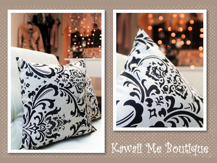 patterned pillows (mix and match option)