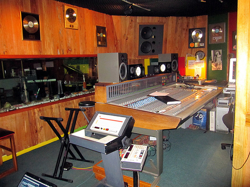 Tuff Gong Recording Studio, Kingston, JA