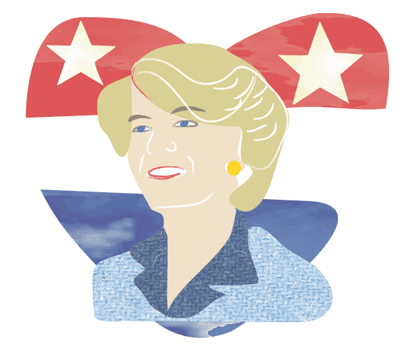 Geraldine Ferraro, the First Female Vice Presidential Candidate. From Astoria! Icon!
