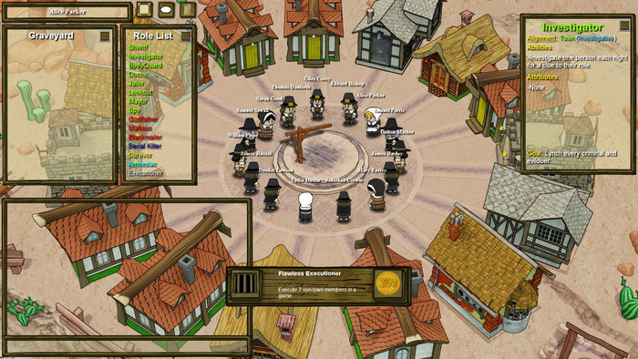 Town Of Salem Game alpha beta yang mengasah otak anda :D