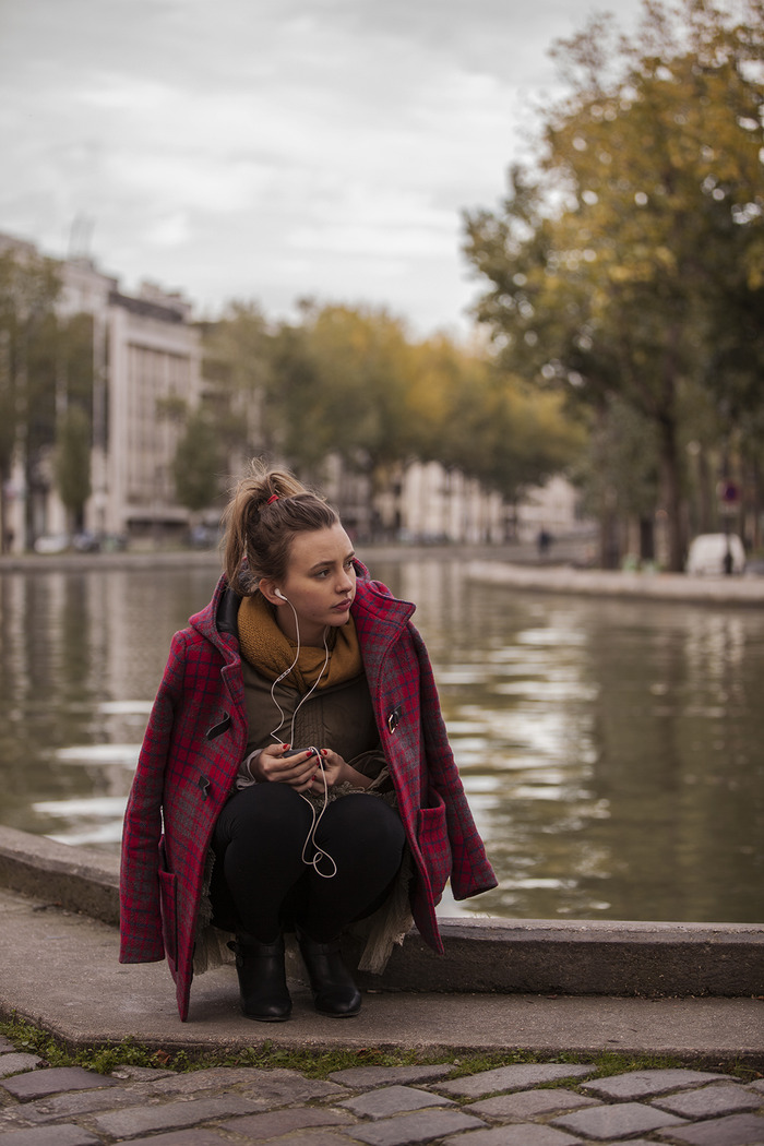 Stella by the Canal St Martin.  Photo by Philip Erbacher.