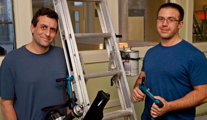 Adam Goldberg (Partner) and Kay Saucier (Inventor)