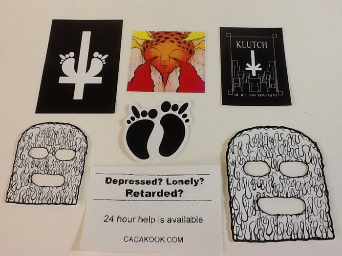 Pledge $5 or more. 1 pack of 3 randomly selected stickers.