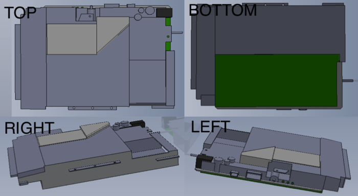 Early Stage Print Engine CAD (Leveraged from existing components)