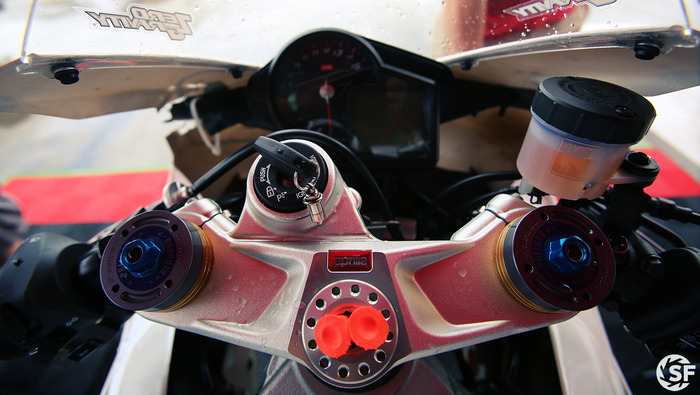 Aprilia RSV4 Dash