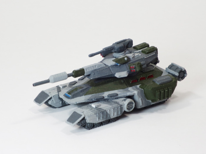 Goliath Tank Front