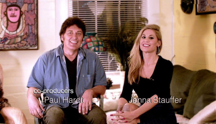 THE TEAM: Paul Hardt & Jenna Stauffer –co producers
