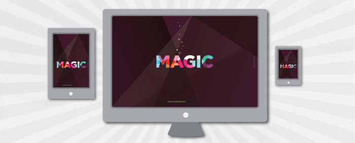 Magical desktop wallpapers by Veerle Pieters.