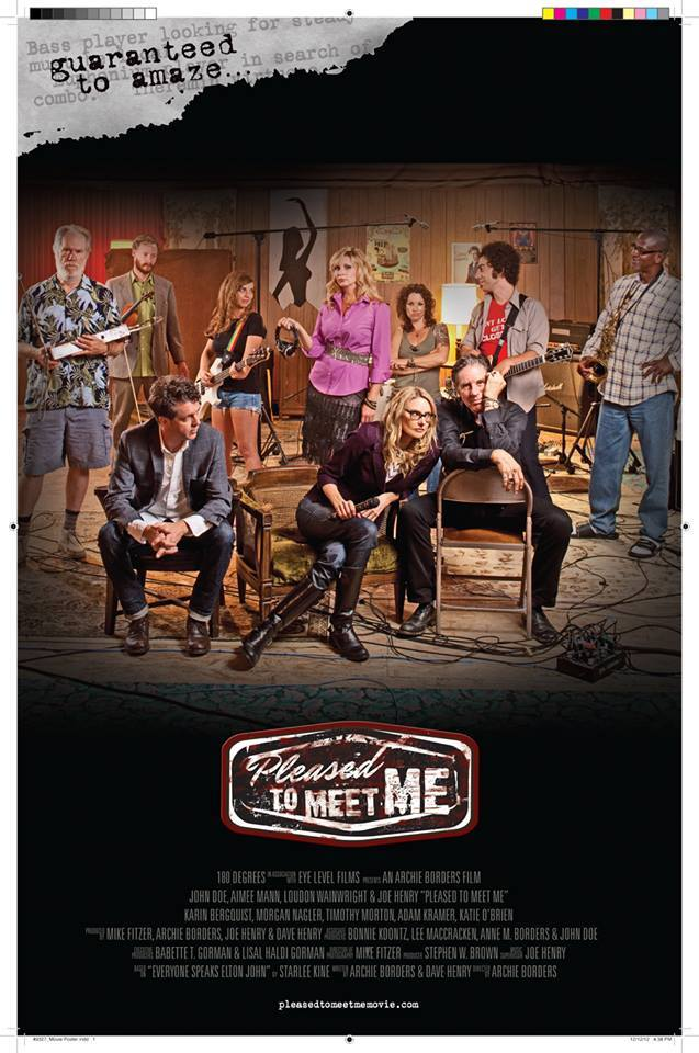 Pleased to Meet Me Poster