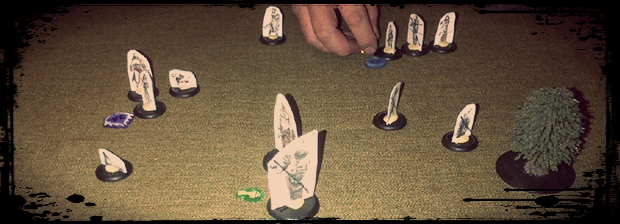 Early Alpha Playtest with Paper Dolls.  Fisherman were smashing it!
