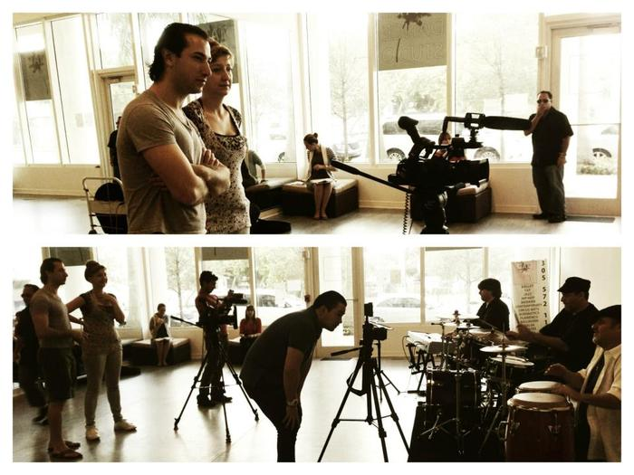 Behind-the-scenes of collaboration between choreographer Pioneer Winter and Indie Film Club Miami.