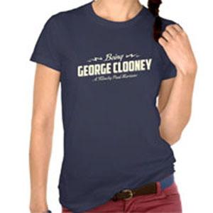 """I Love Clooney"" t-shirt"