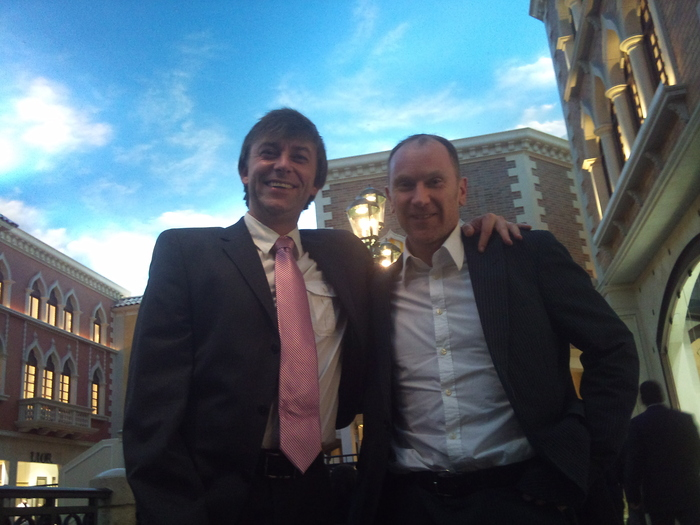 Long time friend and right hand man - Phil, with me at CES Vegas