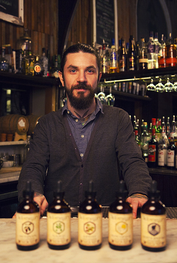 Cole Benoit, co-founder and head bitters maker.
