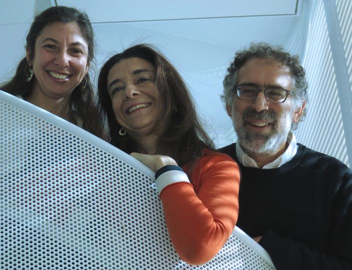 ScratchJr project leaders: Marina Bers, Paula Bonta, Mitch Resnick