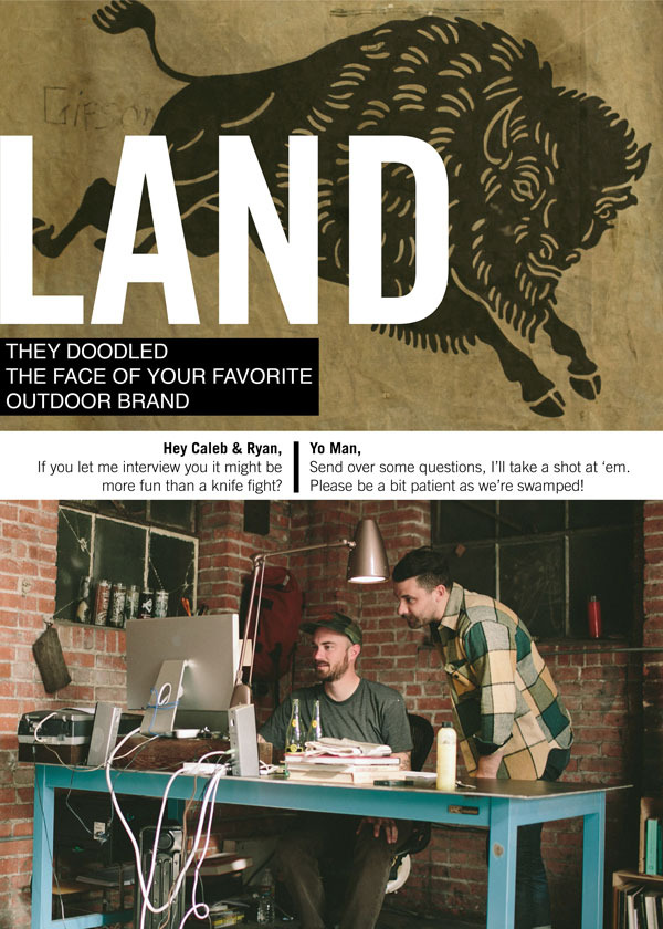 Interview with the designers at LAND