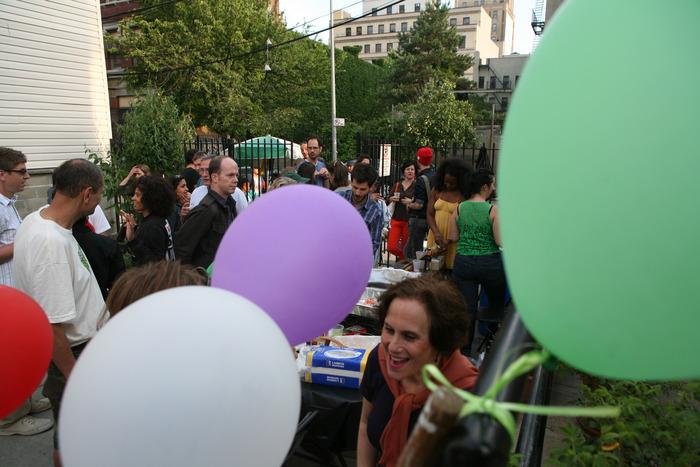 "Community Garden Party for Nina Berman's ""Bronx Gardens"""