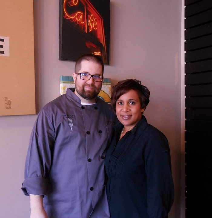 Tania and Troy Meyers, owners of Troy's Cafe and Catering