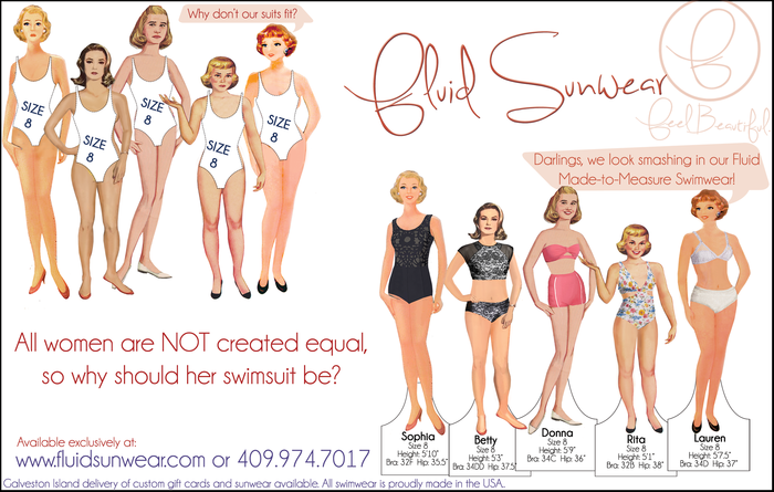 Custom Fit Made to Measure Swimsuits