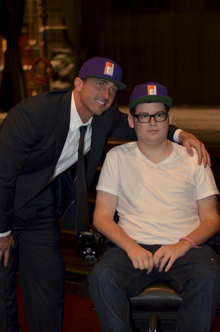 Former NBA player Chris Herren & I