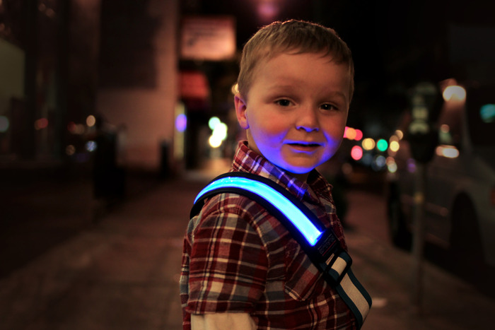 Child Safety - Halo Belt 2.0 - Blue
