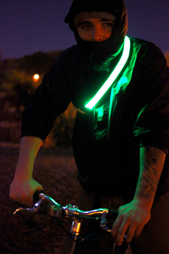 Cycling safety - Halo Belt 2.0  - Green