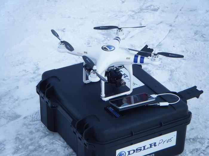 DJI Phantom Quadcopter - Pro + Cinema Edition
