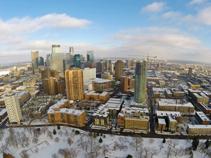 Option 4 - Minneapolis from Loring Park