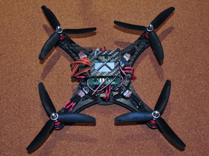 Quad Rotor Mini - Indoor Flyer.