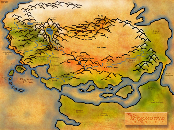 The World of Dragonstone Chronicles