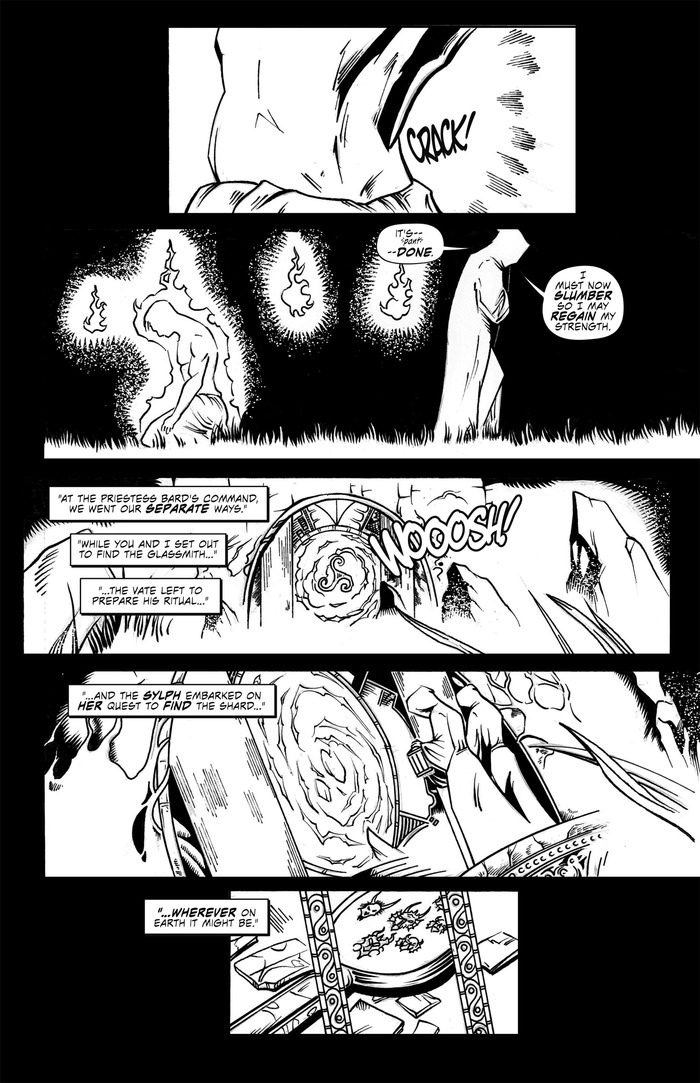 Knight's Legacy: Awakening Of The Pen Ddraig Page VI