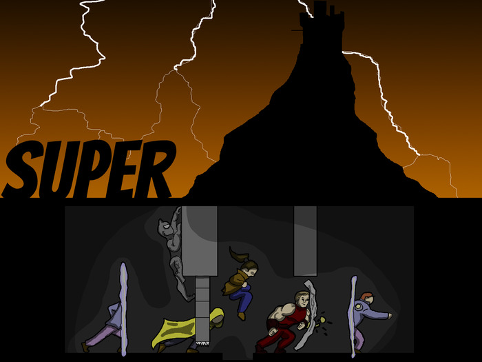 Super: a Game for heroes