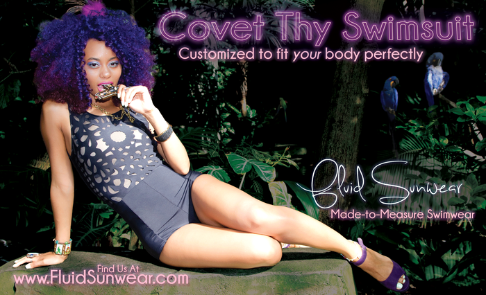 Sophia Laser Cut One Piece Custom Fit Swimsuit