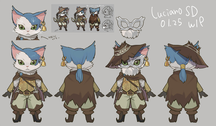 Luciano In-Game version WIP