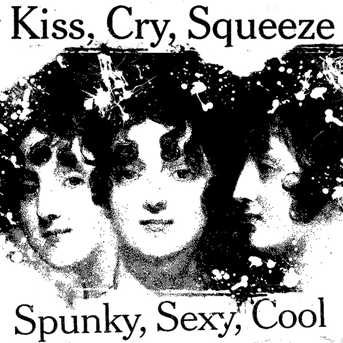 """Spunky, Sexy, Cool - Black Glitter Edition - 12"""" x 12"""" - Signed and Numbered"""