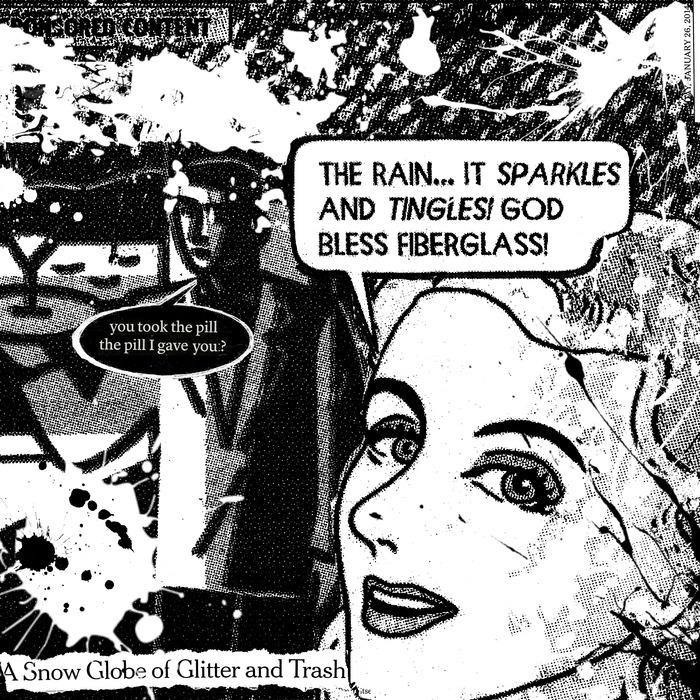 "'God Bless Fiberglass' - Print - 30"" x 30"""
