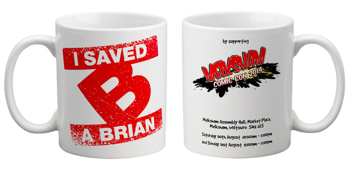 I Saved a Brian Exclusive Reward Mugs! (Final Design May Be Subject to Change)