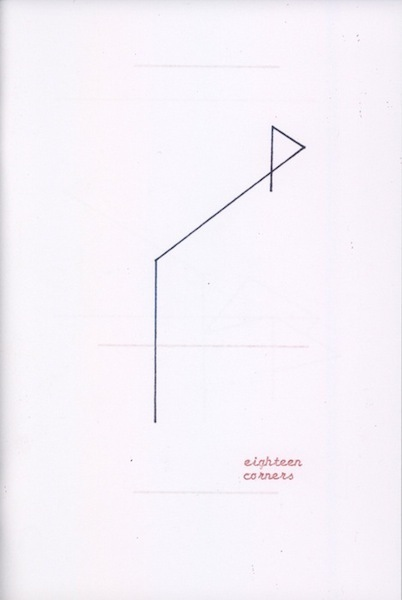 EIGHTEEN CORNERS zine/artist's book by Alexander Stewart