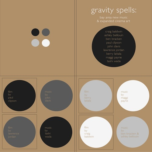 GRAVITY SPELLS handmade folio with LPS, book and DVDs by John Davis