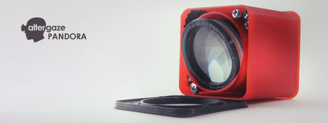 (£30) Everything you need to 3D print and assemble your Altergaze: lenses, screws, nuts and the files free for download.