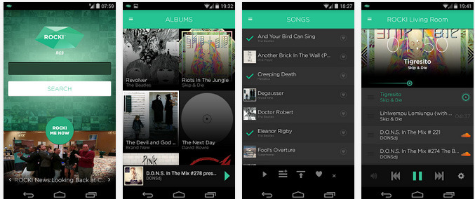 ROCKI app in Google Play store