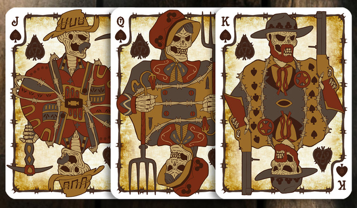 Wanted Poster Spades