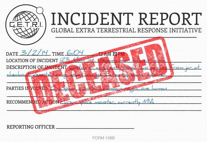 The GETRI Incident Report