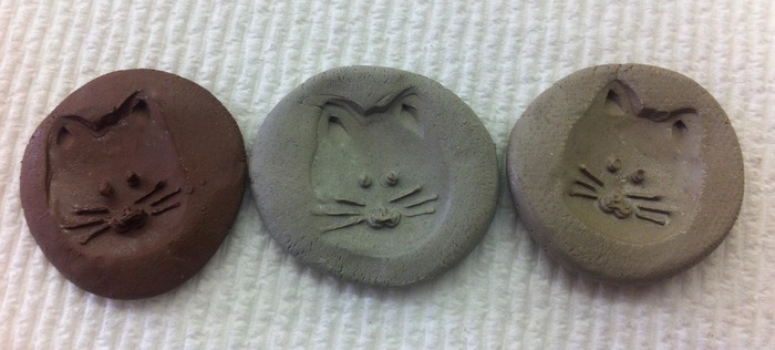 Kitty Cat face magnets mentioned in our rewards - freshly stamped