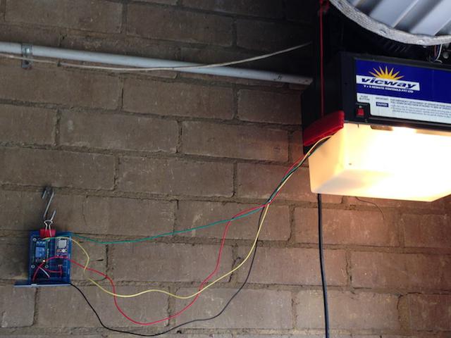 First prototype - stilling working in my garage
