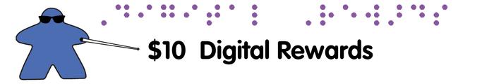[$10]  Digital Rewards