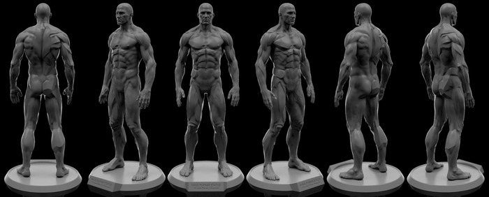 3D Render of Final Sculpt