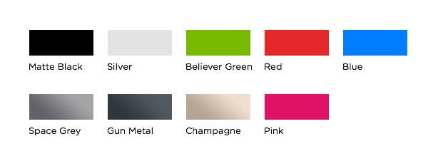 AL13 Color Options