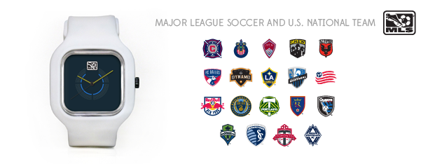 19 teams available! Or get a US National team watch. Enjoy your team on your wrist.