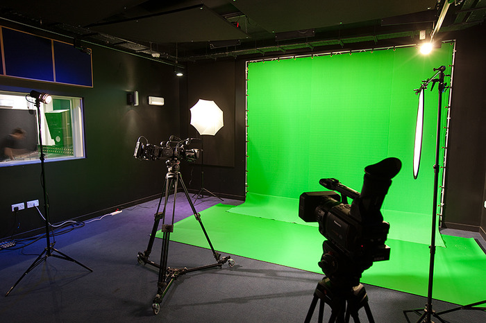 Green room for video projects